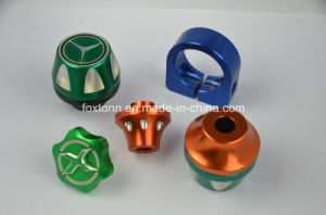 OEM CNC Machining Motor Parts of Aluminum Fuel Tank Cover pictures & photos