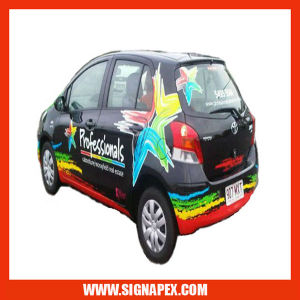 Self Adhesive Vinyl Film Car Window Stickers (SAV08120M) pictures & photos