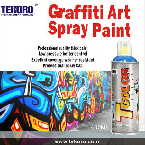 Spray Paint for Artist Venture, Excellent Coverage in One Pass, No Running Down, European Female Valve pictures & photos