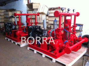 Fire Water Supply Unit with Diesel Pump and Electric Pump pictures & photos