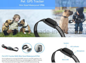 Waterproof GPS Tracker for Pet/Dog/Cats with Real-Time Position Tracking EV-200 pictures & photos