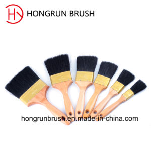 Wooden Handle Paint Brush (HYW0332) pictures & photos