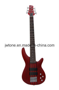 Neck Through Body Quality Popular 6 String Electric Bass Guitar pictures & photos