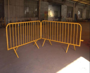 Removable Road Crowd Control Barricade/Metal Crowd Control Barrier pictures & photos