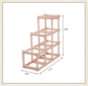 2016 Hot Sale Furniture Wood Folding Wine Rack Wholesale pictures & photos