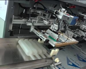 Automatic Three Color Beverage Bottle Screen Printing Machine pictures & photos