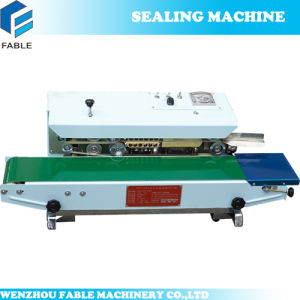 Factory Price Continuous Band Sealing Machine with Date Printer (BF-900W) pictures & photos