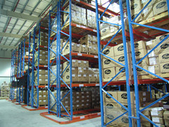 Height Adjustable Plastic Pallet Racking for Warehouse Storage pictures & photos