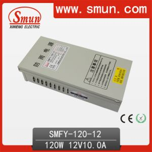 Smun Smfy-120-12 120W 12V 10A Rainproof Power Supply pictures & photos