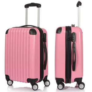China Pink Luggage Sets with Fitting Corner - China Pink Luggage ...