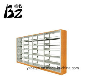 Fixed Bookshelf Wood and Metal School Furniture (BZ-0160) pictures & photos