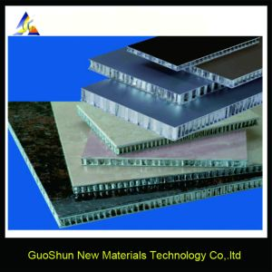 6mm 10mm 15mm Building Material Wall Cladding Aluminum Honeycomb Panel pictures & photos