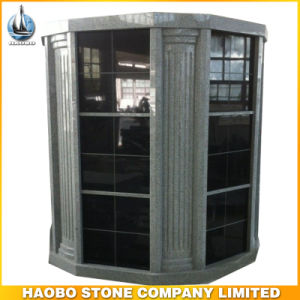 Black Granite Stone Niche Hexagonal Mausoleums and Columbariums for Cemetery pictures & photos