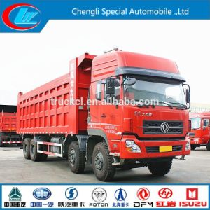 New Diesel Type 8X4 Stone Carrying Tipper 31ton Dumper Dongfeng Used Heavy Truck pictures & photos