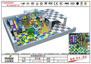 Kaiqi Large Colourful Children′s Soft Play Playground (KQ20111219-TQBZ360A) pictures & photos