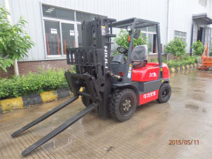 Niuli 4-Wheel Battery Electric Forklift pictures & photos