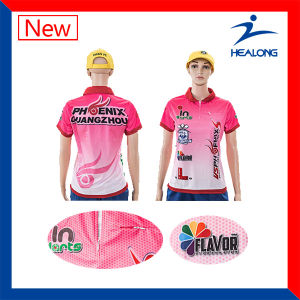 Healong High Quality Sportswear Sublimation Polo Shirts for Man pictures & photos