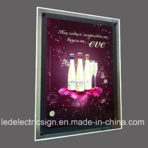 LED Crystal Frame Advertising Display Board pictures & photos