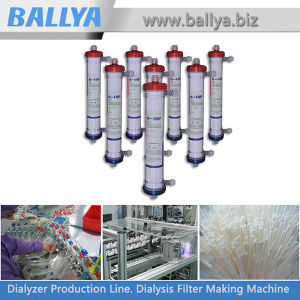 Medical Dialysis Blood Filter Polysulfone Polyethersulfone Dialyzer Manufacture Machine Equipment