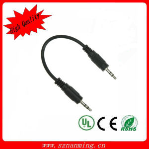 Stereo 3pole 3.5mm Mini Jack Audio Cable pictures & photos