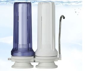 Counter Top Three Stages Water Filter for Household Use pictures & photos