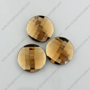 Multicolor Decorative Flat Back Round Glass Beads for Garment pictures & photos