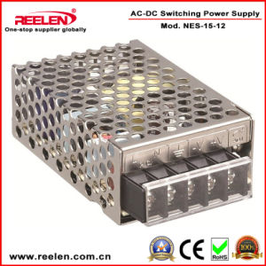 12V 1.3A 15W Switching Power Supply CE RoHS Certification Nes-15-12 pictures & photos