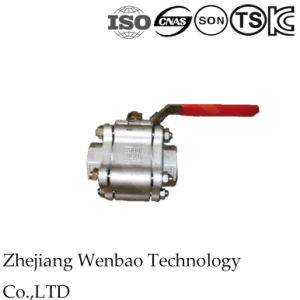 3PC High Pressure Stainless Steel Ball Valve with Butt-Welding Type pictures & photos