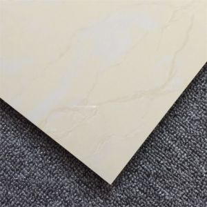 Half Body Polished Porcelain Floor Tile Yellow Color Pop Iterm pictures & photos