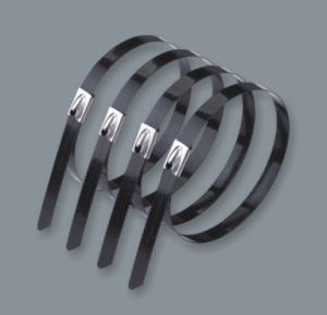 PVC Coated /Covered Stainless Steel Cable Ties, Straps, 4.6X100mm (SS304/316) pictures & photos