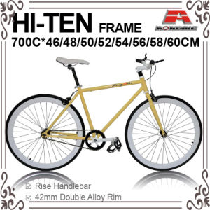 700c Hi-Ten OEM Fixed Gear Bicycle for 700c-460/480/500/520/540/550/560/580/600/610mm (KB-700C07) pictures & photos