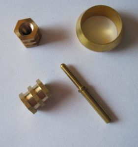 OEM Brass Machined Parts for Mechanical pictures & photos