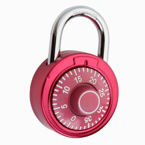 Combination Padlock (1620) Stainless Steel Round Dial Combination Padlock pictures & photos