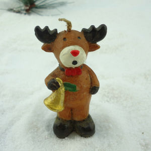 Cute Calf Crafts Christmas Candle pictures & photos