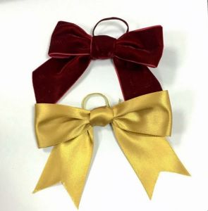 Christmas Tree Decoration Ribbon Bow pictures & photos