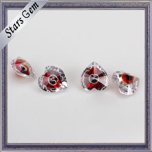 Heart Shape Blood Red Special Design Multi Color Gemstone pictures & photos