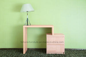 Wooden Stretchable Computer Desk with Chest of Drawers (N701-0.8)