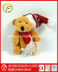 Christmas Holiday Gift Teddy Bear Keychain Toy Gift