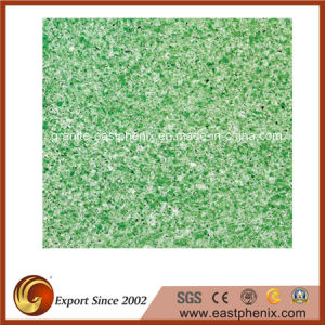 Engineering Artificial Green Quartz Stone Tile pictures & photos