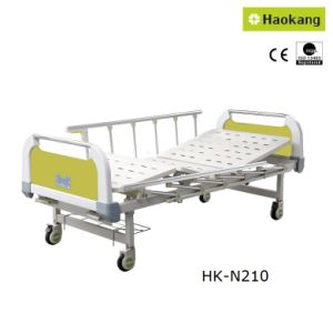 Customizable Manual Two-Crank Medical Bed for Hospital (HK-N210) pictures & photos