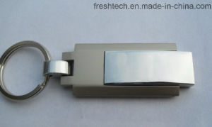 Hot Selling Metal Keyring Swivel USB Flash Drive (D309) pictures & photos