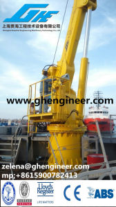 Flexible Handling Telescopic Crane of Dry Bulk Used on Port/Ship pictures & photos