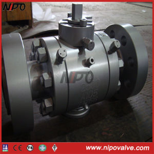 2500lb High Pressure Forged Steel Trunnion Ball Valve pictures & photos