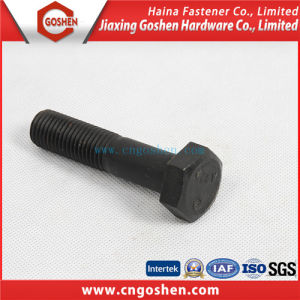 Black Heavy Hex Bolt / High Strength Hexagon Bolt pictures & photos