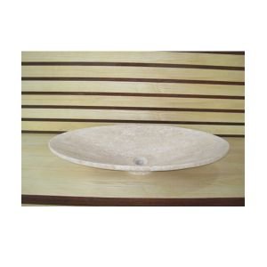 Natural Stone Vessel Shape Bathroom Basin pictures & photos