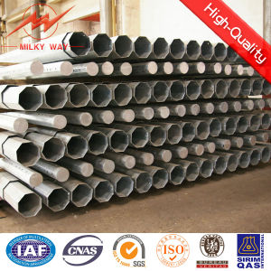 Galvanized Steel Tubular Pole for Overhead Line Project pictures & photos