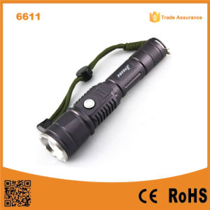 USB Design T6 LED Police 10W Flashlight Power Bank pictures & photos