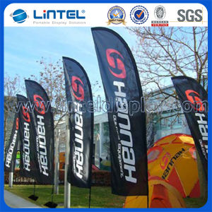 3.5m Folding Beach Guide Flag Outdoor Flag Poles (LT-17F) pictures & photos