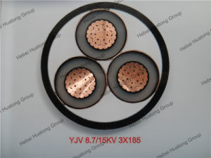 8.7/15kv XLPE Insulated and PVC Sheathed 185mm Power Cable pictures & photos