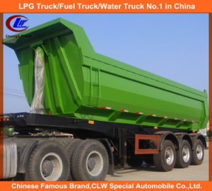 Hot Selling Dumper Semi Trailer with 3axles pictures & photos